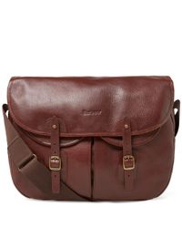 Barbour Brown Leather Tarras for men