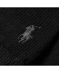 Polo Ralph Lauren - Black Merino Glove for Men - Lyst