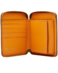 Comme des Garçons Brown Comme Des Garcons Sa2100 Colour Inside Wallet for men