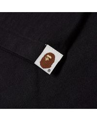 A Bathing Ape - Black Halloween College Tee No.1 for Men - Lyst