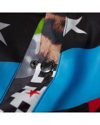 Uniform Experiment Black Reversible 5 Star Ma-1 Jacket for men