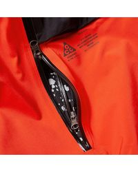 Nike Red Acg Women's 3 In 1 System Poncho