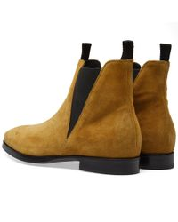 Acne Brown Zack Suede Chelsea Boot for men