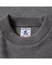 Arpenteur Gray Glacier Crew Knit for men