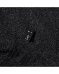 (w)taps Gray Buds Shirt for men