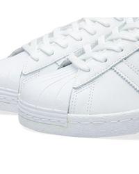 Adidas White Superstar 80s
