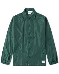 MKI Miyuki-Zoku Green Unlined Coach Jacket for men