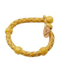 Chamula - Yellow Round Bracelet - Lyst