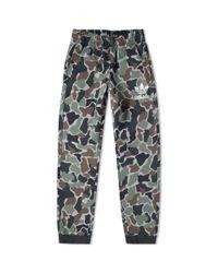 Adidas Green Camo Sweat Pant