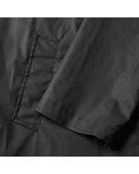 Off-White c/o Virgil Abloh Black Quote Raincoat for men