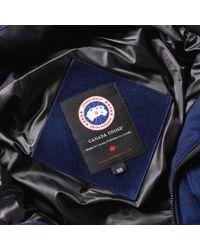 Canada Goose Blue Chatham Parka for men