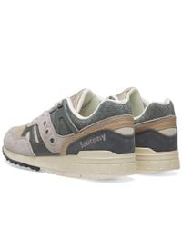 Saucony Gray Grid Sd Quilted for men