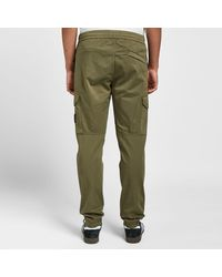 Stone Island Green Garment Dyed Cargo Pant for men