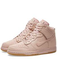 Nike Pink W Dunk Hi Premium