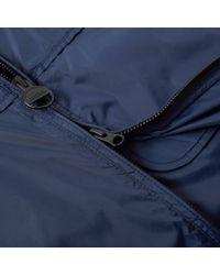 Barbour Blue International Track Jacket for men