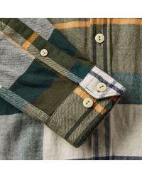 Barbour Green Johnny Tartan Shirt for men