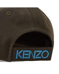 KENZO Green Tiger Cap for men
