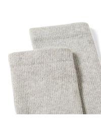 (w)taps Gray Skivvies Sock - 3 Pack for men