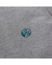 Paul Smith Gray Regular Fit Ps Logo Polo for men