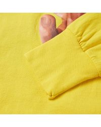 Off-White c/o Virgil Abloh Yellow Long Sleeve Hands Tee for men