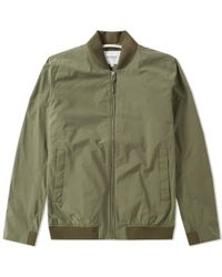 Norse Projects Green Ryan Crisp Cotton Jacket for men