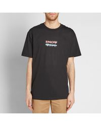 Know Wave Black Chest Logo Tee for men
