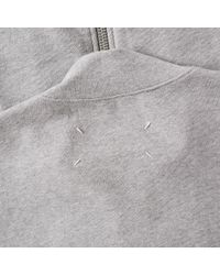 Maison Margiela Gray 14 Elbow Patch Track Jacket for men