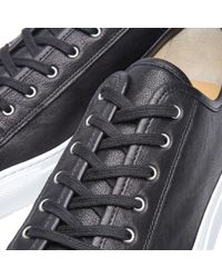 Common Projects Black Tournament Low Leather for men