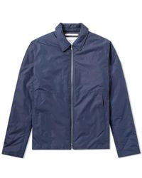 Norse Projects - Blue Elliot Nylon Jacket for Men - Lyst