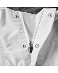 Norse Projects White Ribe Crisps Tech Hooded Jacket for men