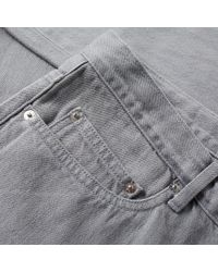 A.P.C. Gray New Standard Jean for men