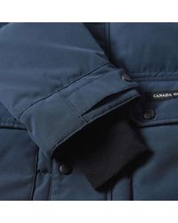 Canada Goose Blue Emory Parka for men