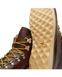 Fracap Brown M120 Natural Vibram Sole Scarponcino Boot for men
