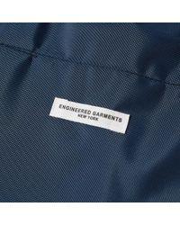 Engineered Garments Blue Weekend Bag for men