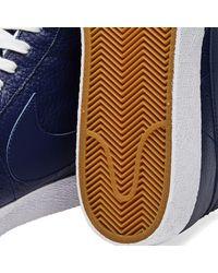 Nike Blue Blazer Mid Premium