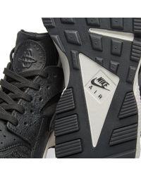 Nike Black W Air Huarache Run Premium