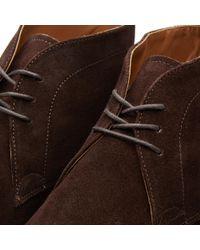 GRENSON Brown Marcus Desert Boot for men