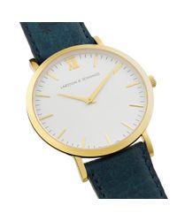 Larsson & Jennings Blue Lugano 40mm Watch for men