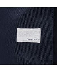 Nanamica Blue Cordura Cycling Pack for men