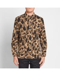 (w)taps Brown Grove Shirt for men