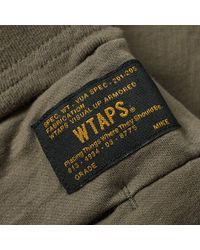 (w)taps Green Tactical Sweat Pant for men