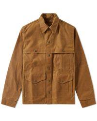 Filson Brown Alaska Fit Tin Cruiser Jacket for men