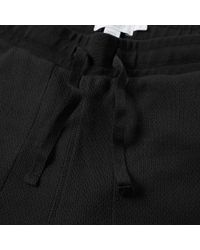 Sunspel Black Cellulock Sweat Pant for men