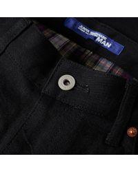 Junya Watanabe Black Stitch Detail Jean for men