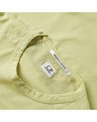 C P Company Green Classic Logo Tee for men