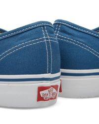 Vans Blue Authentic for men