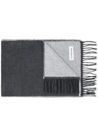 Universal Works | Gray Double Sided Scarf for Men | Lyst
