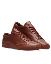 Common Projects Red Original Achilles Low