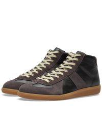 Maison Margiela Black 22 Replica High Sneaker for men