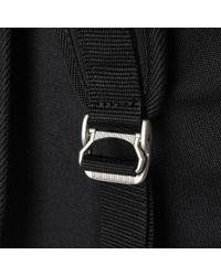 Master Piece Black Over-nc Teardrop Backpack for men